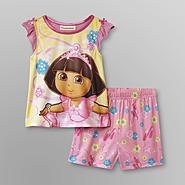 Nickelodeon Dora the Explorer Infant & Toddler Girl's Shorty Pajamas at Kmart.com