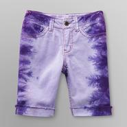 Route 66 Girl's Bermuda Shorts - Tie-Dye at Kmart.com