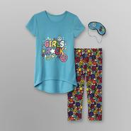 Joe Boxer Girl's Pajama Set & Sleep Mask - Girls Rock at Kmart.com