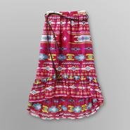Route 66 Girl's High-Low Skirt & Belt - Aztec at Kmart.com