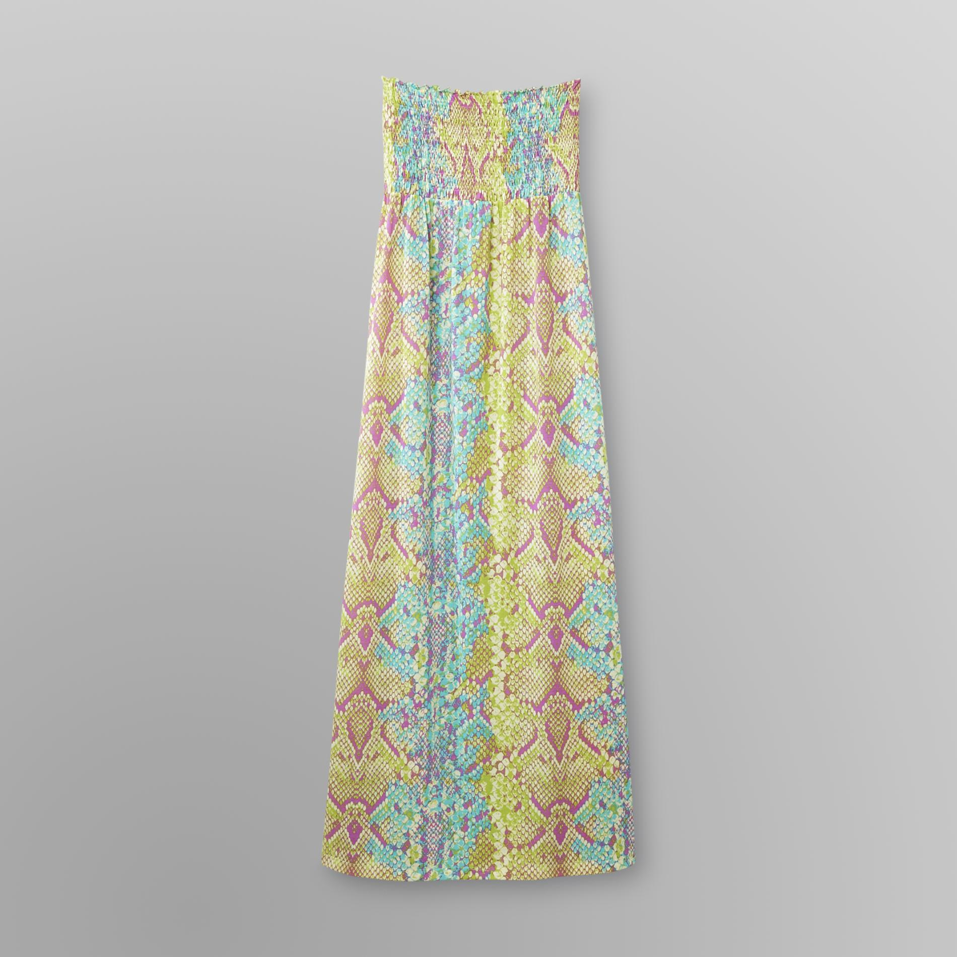 Bongo Junior's Mandy Maxi Dress - Snakeskin Print at Kmart.com