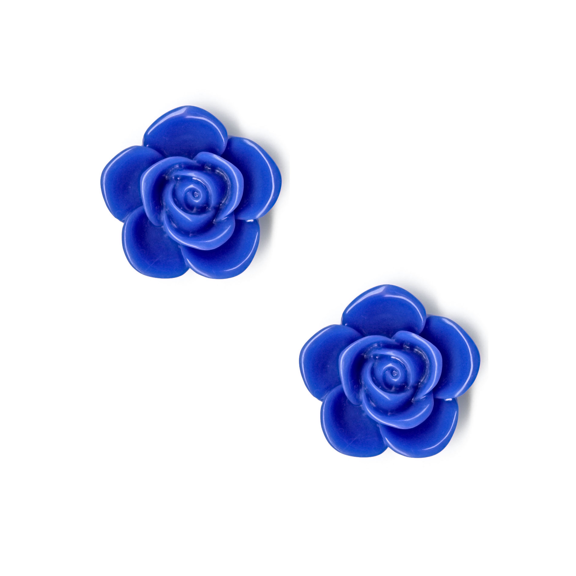 Bongo Rose Bud Push Back Earrings