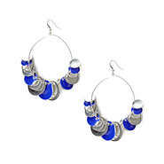 Bongo Multidisc Fishhook Silvertone Loop Earrings at Kmart.com