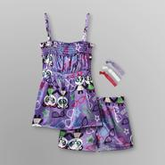 Joe Boxer Girl's Pajama Tank Top & Shorts - Panda at Kmart.com