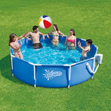 Summer Escapes Pool Set Metal Frame 10 ft x 30 in at mygofer.com