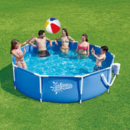 Summer Escapes Pool Set Metal Frame 10 ft x 30 in at Kmart.com