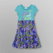 Piper Girl's T-Shirt Dress - Love & Peace at Kmart.com