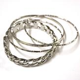 Sofia by Sofia Vergara Bangle 4 Pc Set Bracelet at mygofer.com
