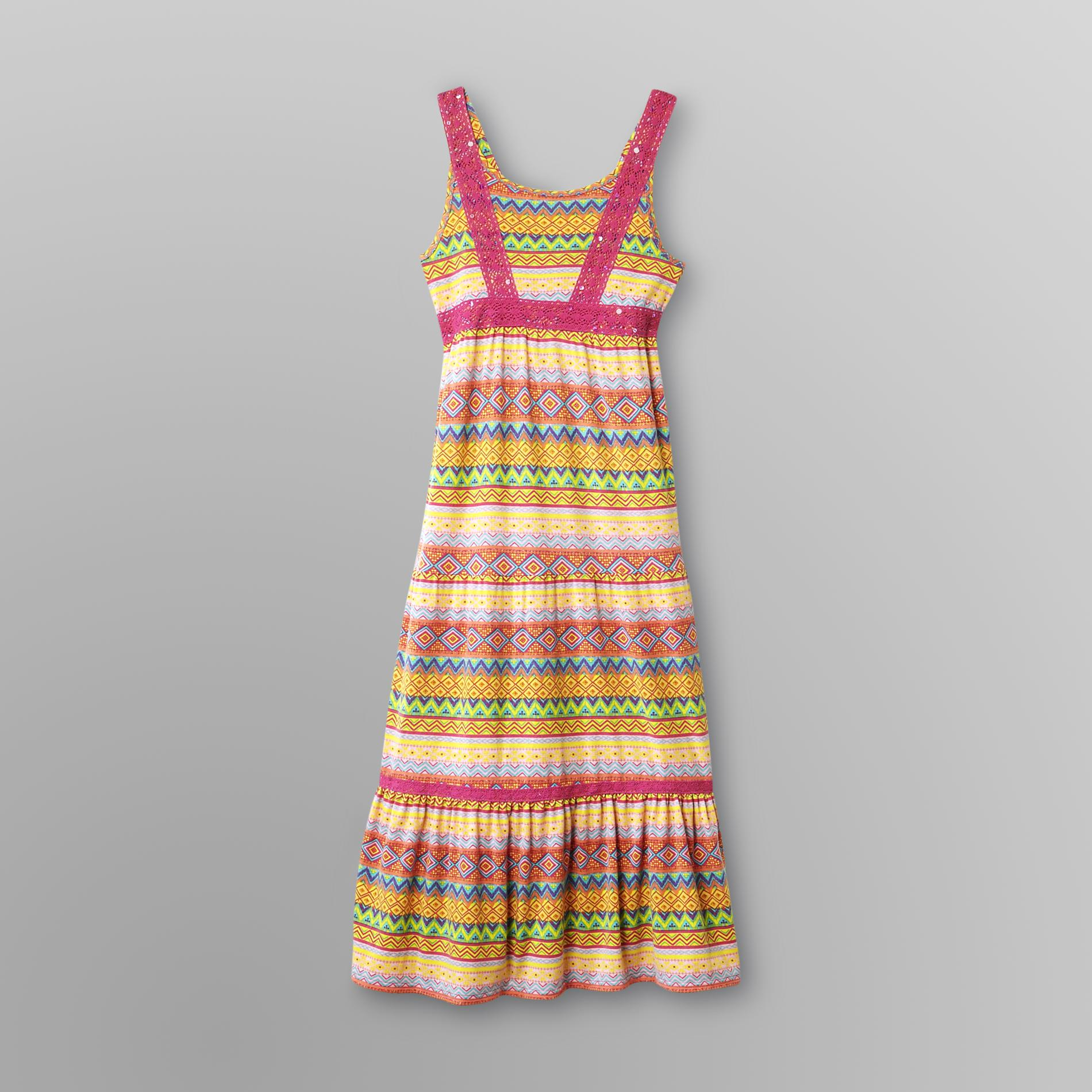 Route 66  Girl's Knit Maxi Dress