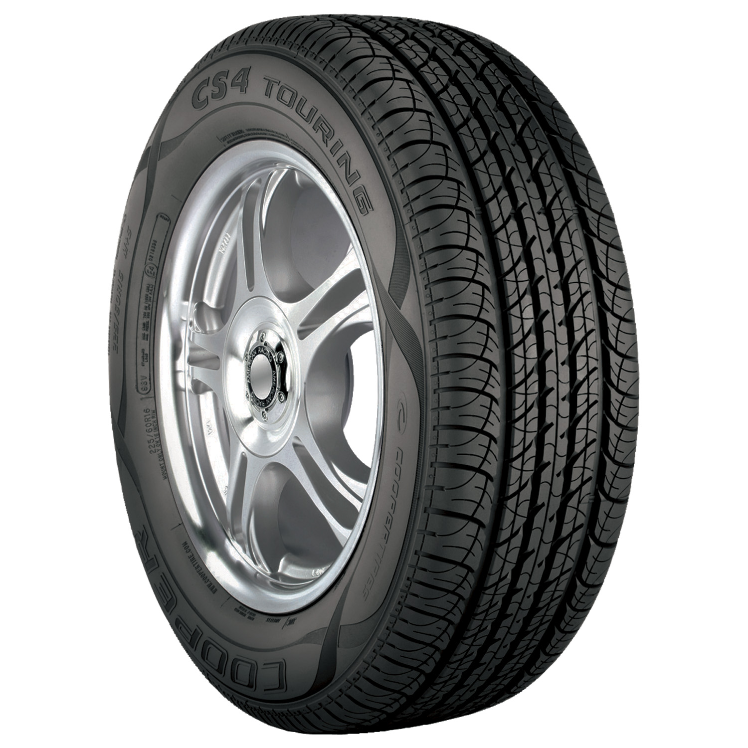 Cooper  CS4 Touring - 235/60R17 102T BW - All Season Tire
