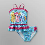 My Little Pony Toddler Girl's Tankini Swimsuit at Kmart.com