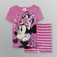 Disney Baby Minnie Mouse Infant & Toddler Girl's Short Pajamas at Kmart.com