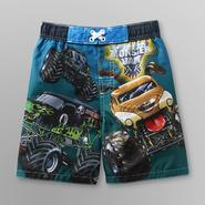 Monster Jams Monster Jam Toddler Boy's Board Shorts at Kmart.com