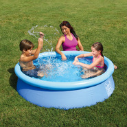 Summer Escapes 60 in. x 15 in. Quick Set Ring Pool Set - (Blue ring) at Kmart.com