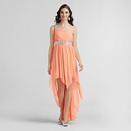 City Triangles Junior's One-Shoulder Prom Dress at Sears.com