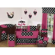 Sweet Jojo Designs Hot Dot Collection Bedding Set & Laundry Hamper Bundle at Sears.com