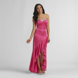 City Triangles Junior's Long Prom Gown - Strapless at Sears.com