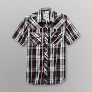Machine Young Men's Western Shirt - Plaid at Sears.com