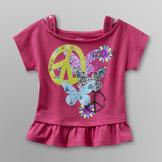 Piper Baby Infant & Toddler Girl's Graphic T-Shirt - Peace at mygofer.com