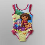 Nickelodeon Dora the Explorer Infant & Toddler Girl's Swimsuit at Kmart.com