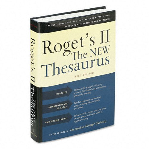Houghton Mifflin Roget's II: The New Thesaurus - Office Products
