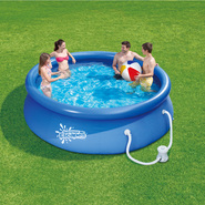 Summer Escapes 10 ft. x 30 in. Quick Set Ring Pool w/ Pump at Kmart.com