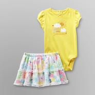 Small Wonders Infant Girl's 2 Pc Sunshine Bodysuit and Skirt Set at Kmart.com