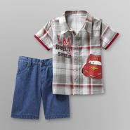 Disney Baby Cars Toddler Boy's Shirt & Shorts at Kmart.com