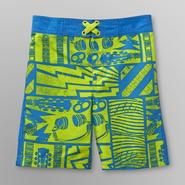 Joe Boxer Toddler Boy's Board Shorts - Guitar Music at Kmart.com