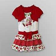 Strawberry Shortcake Infant & Toddler Girl's Tiered Dress at Kmart.com