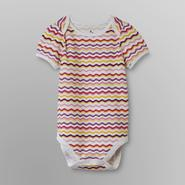 Small Wonders Infant Girl's Bodysuit Top - Wavy Stripes at Kmart.com