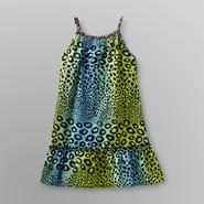 Basic Editions Girl's Cotton Dress - Animal Print at Kmart.com
