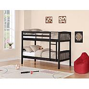 Essential Home Belmont Bunk Bed - Black at Kmart.com