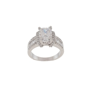 Sterling Silver Cubic Zirconia Ring at Kmart.com