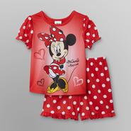 Disney Baby Minnie Mouse Infant & Toddler Girl's Pajama Set at Kmart.com