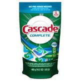 Cascade Complete ActionPacs Dishwasher Detergent 1.4 oz at mygofer.com