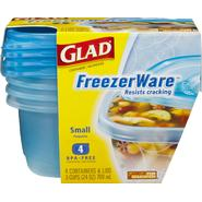 Glad Freezerware Containers And Lids Small at Kmart.com