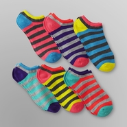 Joe Boxer 6 Pack Women's Low-Cut Socks - Rugby Striped at Kmart.com