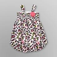 Piper Baby Infant Girl's Chiffon Bodysuit - Leopard Print at Kmart.com
