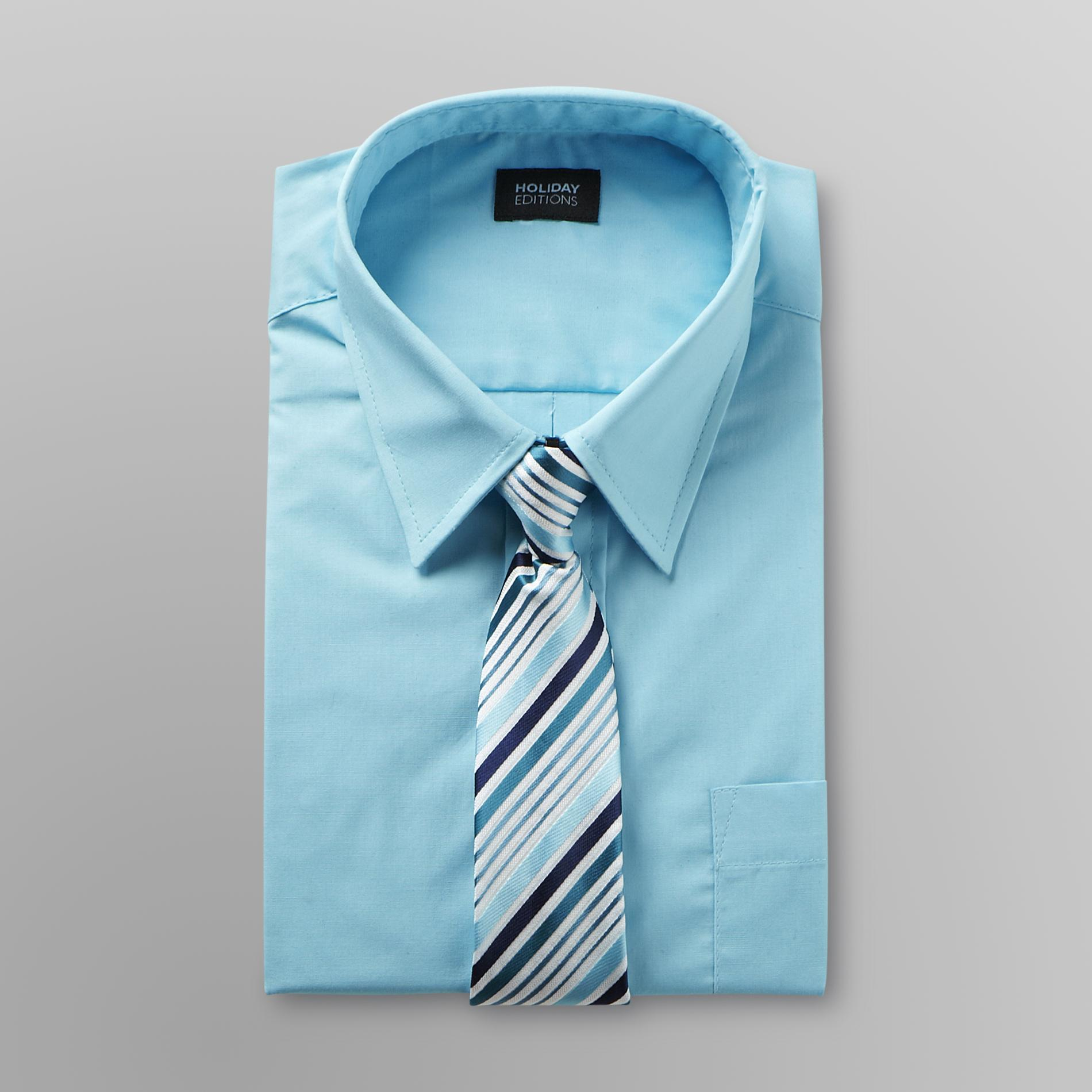 Holiday Editions  Boy's Dress Shirt &