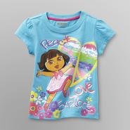 Nickelodeon Dora the Explorer Toddler Girl's Graphic T-Shirt at Kmart.com