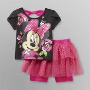 Disney Minnie Mouse Infant & Toddler Girl's T-Shirt & Shorts at Kmart.com
