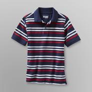 Basic Editions Boy's Mesh Polo Shirt - Striped at Kmart.com