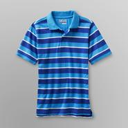 Basic Editions Boy's Pique Polo Shirt - Echo Stripe at Kmart.com