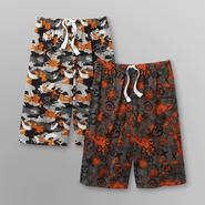 Joe Boxer Boy's Camo Sleep Shorts - 2 Pairs at Kmart.com