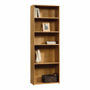 Sauder Beginnings 5 Shelf Wood Bookcase, Oak Finish at Kmart.com