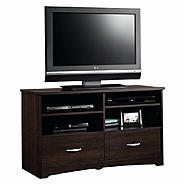 Sauder Beginnings TV Stand - Cinnamon Cherry at Kmart.com