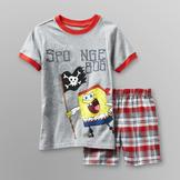 Nickelodeon SpongeBob SquarePants Boy's T-Shirt & Shorts at mygofer.com