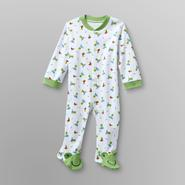 Small Wonders Infant Boy's Footed Pajamas - Surf Frogs at Kmart.com
