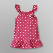 WonderKids Infant & Toddler Girl's Sleeveless Tunic - Polka Dot at Kmart.com